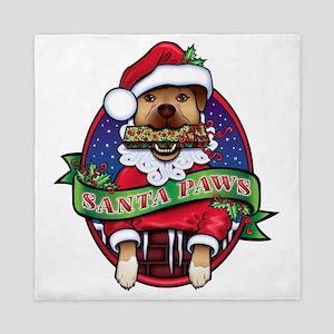 Santa Paws Queen Duvet