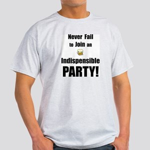 Indispensible Party Grey T-Shirt