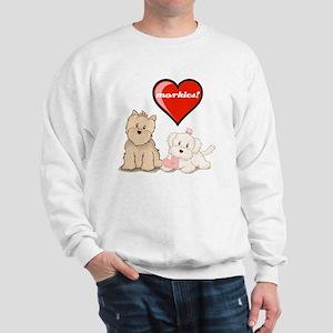teddy-bear-tshirt Sweatshirt