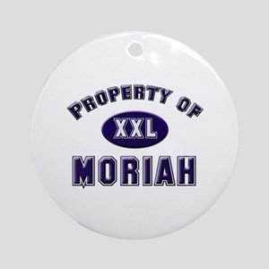 Property of moriah Ornament (Round)