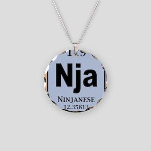 ninjanium-STKR Necklace Circle Charm