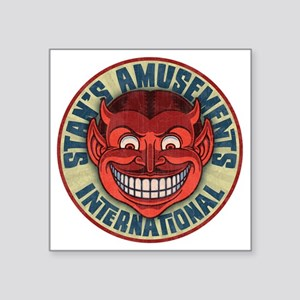 "stan6-amusmts-T Square Sticker 3"" x 3"""