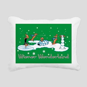 WONDERLANDACRD Rectangular Canvas Pillow