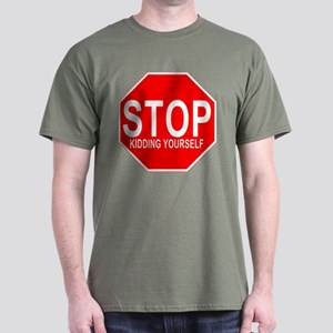 STOP Kidding Yourself Anti-Va Dark T-Shirt