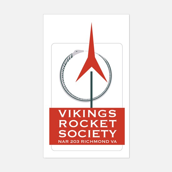 Vikings Rectangle Decal
