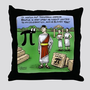 Pi_48 Caesar Ides of March (17.5x11.5 Throw Pillow