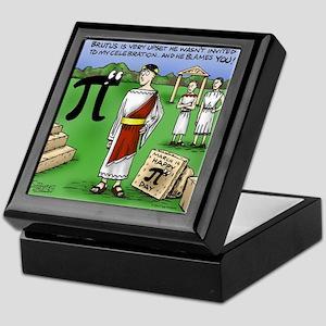 Pi_48 Caesar Ides of March (17.5x11.5 Keepsake Box