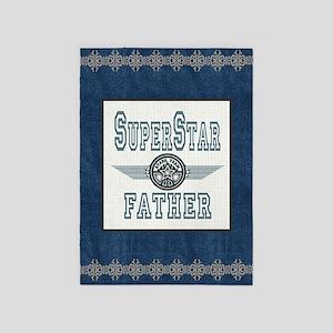 Blanket Blue Jean superstar father 5'x7'Area Rug