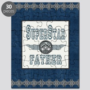 Blanket Blue Jean superstar father copy Puzzle