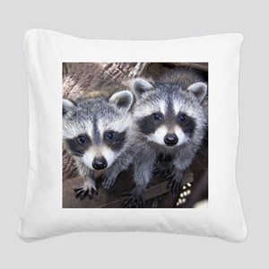 cp calendar gerry  ll baby pi Square Canvas Pillow