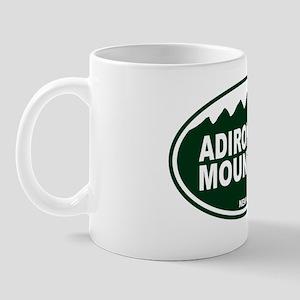 Adirondack Mountains Oval Mug