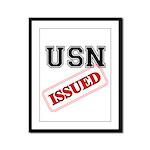 USN Issued  Framed Panel Print