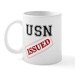 USN Issued Mug