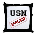 USN Issued  Throw Pillow