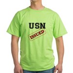 USN Issued Green T-Shirt