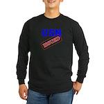 USN Issued Long Sleeve Dark T-Shirt