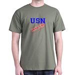 USN Issued Dark T-Shirt