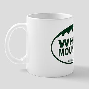 White Mountains Oval Mug