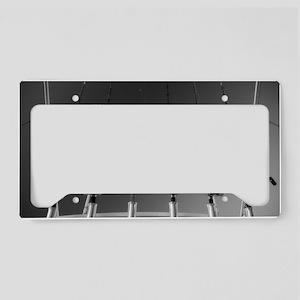 DSC_2143bw License Plate Holder