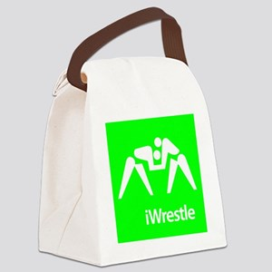 iWrestle Canvas Lunch Bag