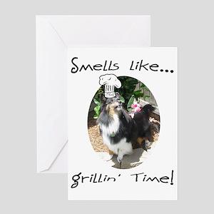 Cali grill Greeting Card