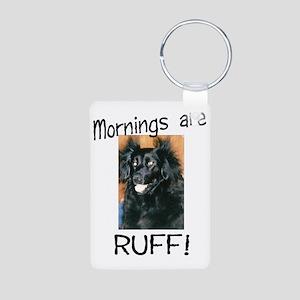 megan mornings Aluminum Photo Keychain