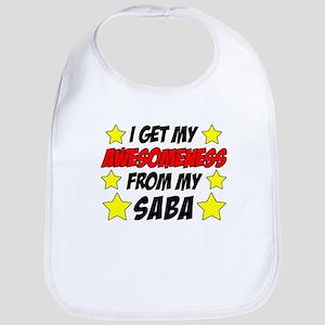 Awesomeness From Saba Baby Bib