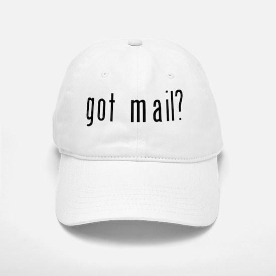 got mail black Baseball Baseball Cap