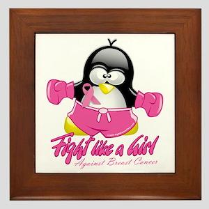 BC-Fighting-Penguin Framed Tile