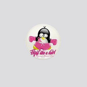 BC-Fighting-Penguin Mini Button