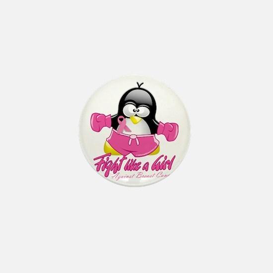 BC-Fighting-Penguin Mini Button