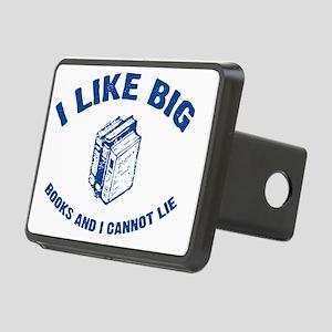 BigBooks_blue Rectangular Hitch Cover