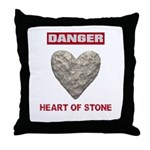 Heart of Stone Throw Pillow