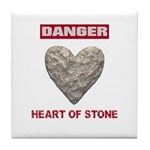 Heart of Stone Tile Coaster