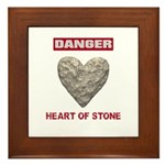 Heart of Stone Framed Tile