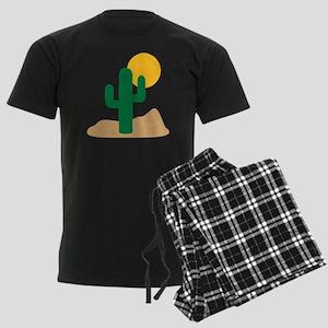 desert_cactus Men's Dark Pajamas