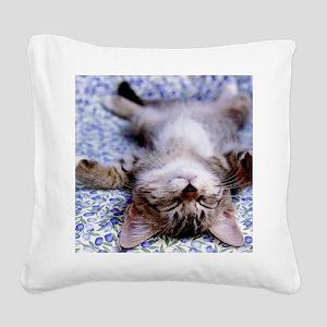 19 Square Canvas Pillow