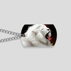 White Lion rec magnet Dog Tags