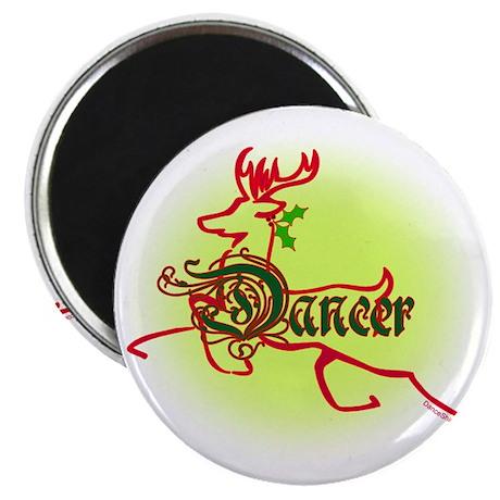 reindeer dancer 2 Magnet