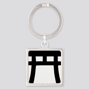 shinto_tor Square Keychain
