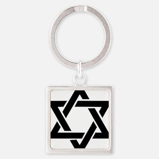 star_of_david Square Keychain
