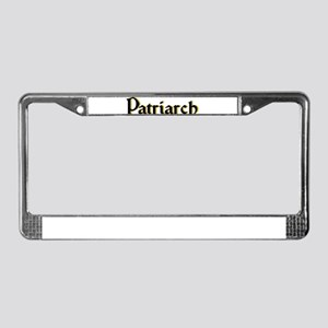 Patriarch License Plate Frame