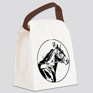 standardbredracing Canvas Lunch Bag