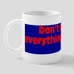 believeBSred Mug