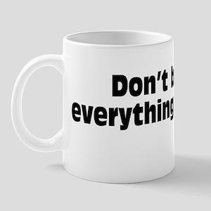 believeBSblk Mug