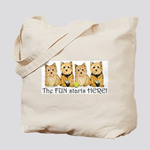 Norwich Terrier Fun Tote Bag