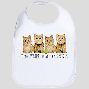 Norwich Terrier Fun Bib
