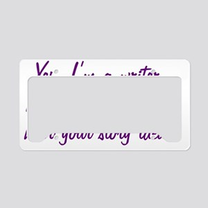 storyideaBTLEprp License Plate Holder
