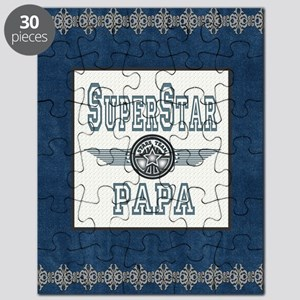 Blanket Blue Jean superstar papa Puzzle