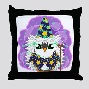 Wizardguin Throw Pillow